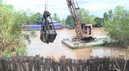 Huyện Long Hồ hoàn thành 21/21 công trình thủy lợi