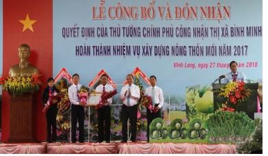 Kinh nghiệm từ mô hình xây dựng nông thôn mới vùng ven đô thị của thị xã Bình Minh, tỉnh Vĩnh Long
