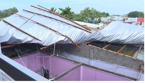 Từ năm 2013 đến năm 2018  thiên tai đã làm hư hỏng 160 căn nhà tại huyện Long Hồ