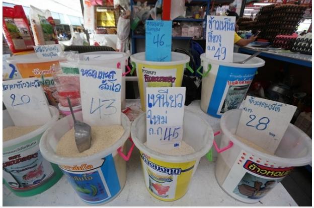 Thái Lan kiểm soát chặt mặt hàng gạo nếp
