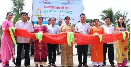 Bình Phước: Khánh thành cầu giao thông nông thôn ấp Phước Trinh A