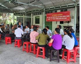 Mở lớp đào tạo nghề kỹ thuật trồng nấm bào ngư tại thành phố Vĩnh Long