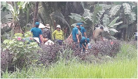 Dân quân tự vệ xã Vĩnh Xuân góp phần giữ vững an ninh trật tự địa phương