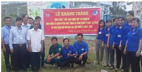"""Chánh An tổ chức lễ khánh thành công trình """"thắp sáng đường quê"""" dài 6,6km"""