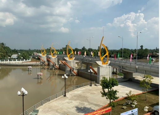 Nghiệm thu và bàn giao công trình cống Tân Dinh